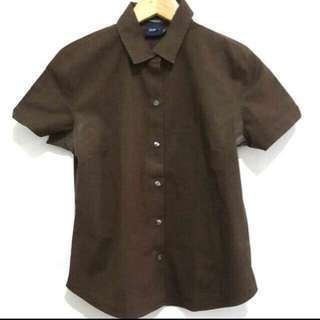 Gap Brown Shirt