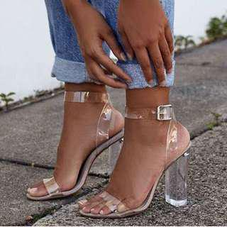 Windsor Smith Gemma Clear Heels