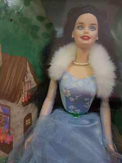 Babydoll Barbie as Snow White