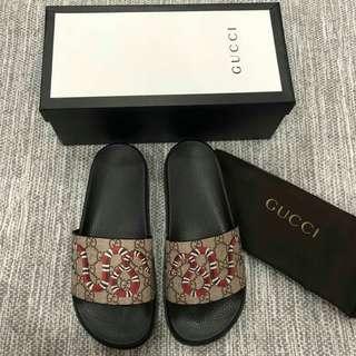 Gucci snake sandal