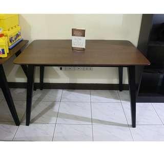 Flaton Square Dining Table (Matte Black)