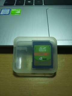 🚚 二手4G的SD卡
