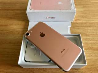 iPhone 7 128gb Rose Gold Like New Openline Complete Check Feedbacks