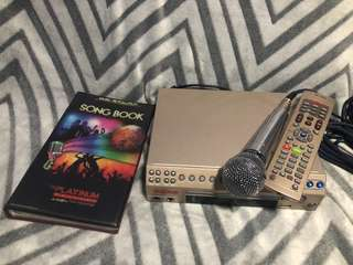 Platinum Karaoke Player with DVD and USB function