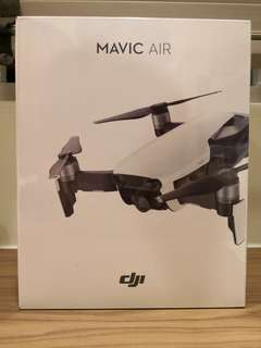 Brand New DJI Mavic Air Arctic White (Standard Set)