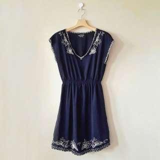 Black Detailed Dress