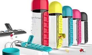 Waterbottle and medicine container