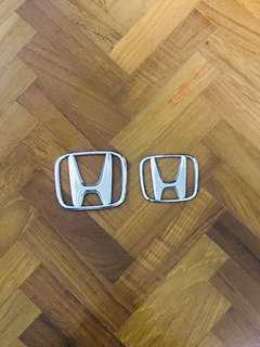 Honda Emblem Chrome