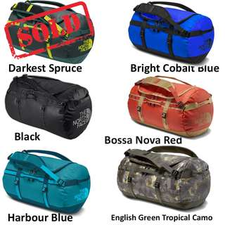 BN The North Face Base Camp Duffel Bag Small Size