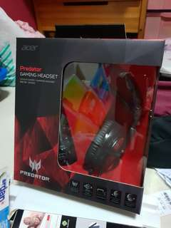 💯 Authentic  :  Predator gaming headset