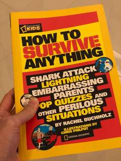 How to Survive Anything national geographic kids