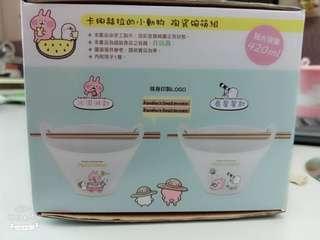 特價200元(包含運費)7-11卡娜荷拉碗筷組