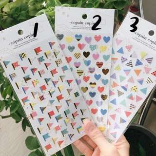 (5 for $3!) Planner/Crafts/Laptop Stickers