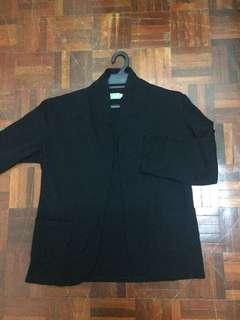 Cardigan blazer black