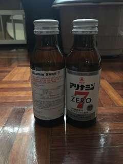 愛利納明 Alinamin Zero 7 抗疲勞營養飲 無糖低卡路里營養補充劑 and R-off 無咖啡因營養補給劑