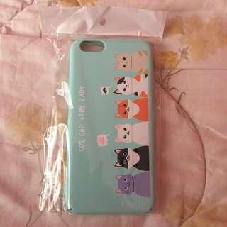 🌻BRANDNEW🌻 Iphone 6 Iphone 6s Cute Blue Cat Matte Hard Case