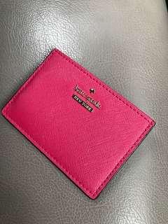 Kate Spade Card Purse - Hot Pink