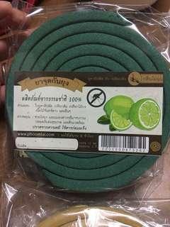 泰國直送🇹🇭天然香茅+橙皮驅蚊餅