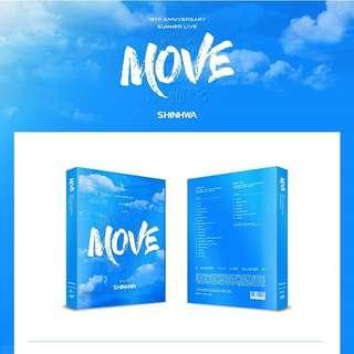 SHINHWA-SHINHWA 19th Anniversary Summer Live: Move [DVD]