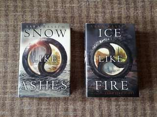 Snow Like Ashes + Ice Like Fire by Sara Raasch (HARDCOVER)