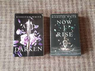 And I Darken + Now I Rise by Kiersten White (PAPERBACK)