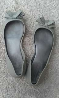 Gray Jelly Shoes