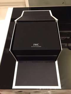IWC watch container