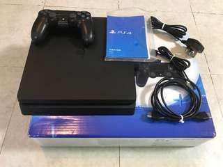 PS4 Silm 500GB BK