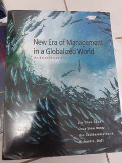 New Era of Management in a Globalized World - an asian perspective