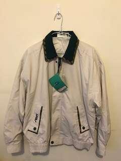 🚚 古著綠色格領外套