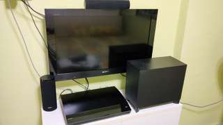 Sony Blu Ray theatre system