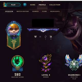 League of Legend Account *All champs* *Lots of skins* STACKED *Level 175*