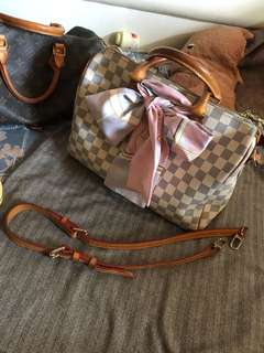 REDUCE price offer Louis Vuitton speedy dmier azur