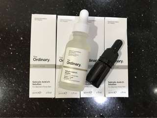 The ordinary salicylic acid 2% solution share in botol pipet 5 ml