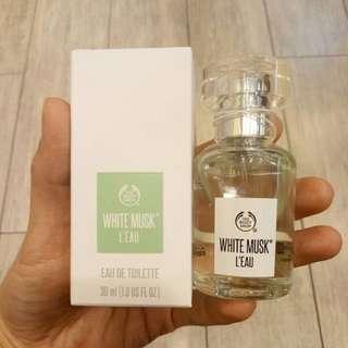 The Body Shop EDT White Musk L'eau 30ml original SALE