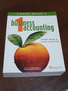 Frank Wood's business accounting 1 / Frank Wood and Alan Sangster.