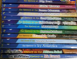 Carole Marsh Mysteries series of books