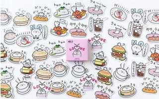 (PO) Bear Food Stickers