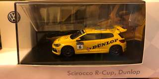 VW Scirocco R-Cup, Dunlop