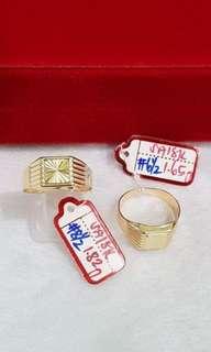 gold men's ring