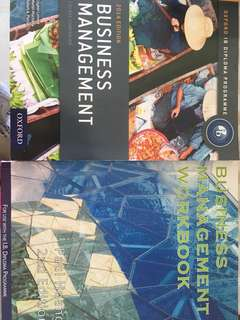 IB Business Management Textbook + Workbook