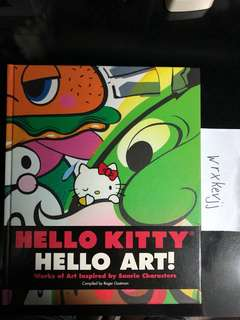 Hello Kitty Hello Art Book