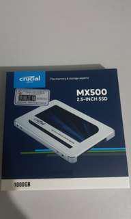 ..MX500 1tb SSD,