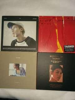 SHINEE TAEMIN ALBUMS