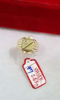 Men gold's ring