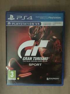 PS4 Games : FIFA 18, Gran Turismo Sport and Call of Duty:Infinite Warrfare