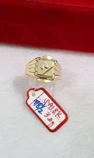 Gold's ring for men