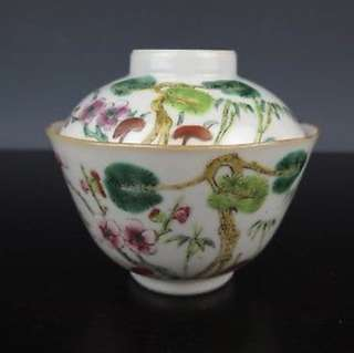 Late Qing tea cup