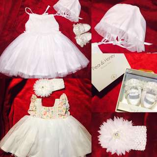 Baptismal And Reception Clothes Bundle/Set