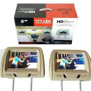 8 Inches TFT-LED Headrest Monitor